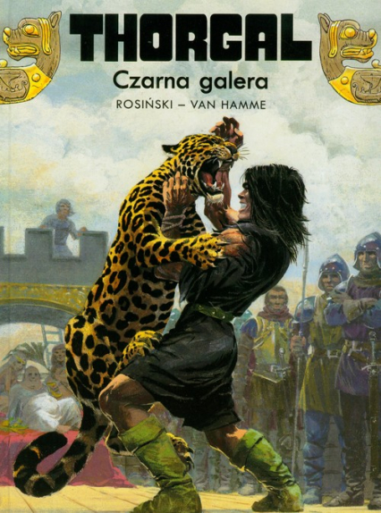 Thorgal Czarna galera Tom 4
