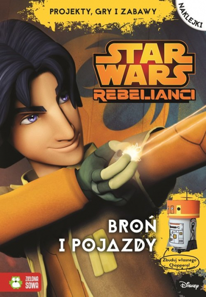 Broń i pojazdy Star Wars Rebelianci
