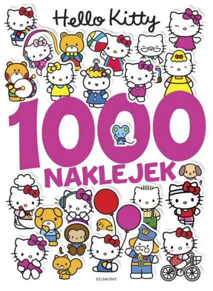 Hello Kitty 1000 naklejek