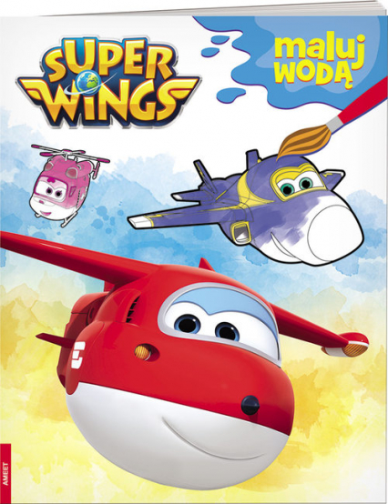 Super Wings Maluj wodą MW-301