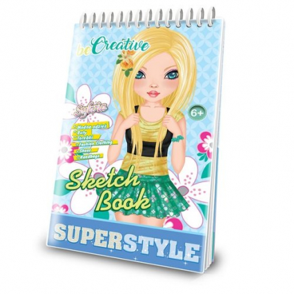 Malowanka kreatywna Superstyle Sketch Book