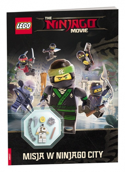 Lego Ninjago Movie Misja w Ninjago City LABE703