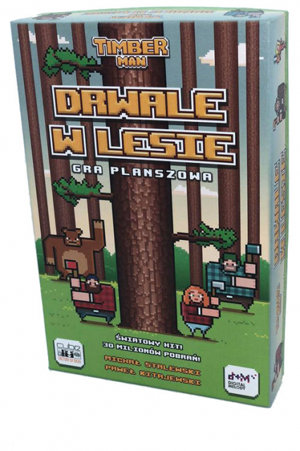 Timber Man Drwale w Lesie