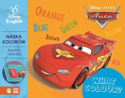 Sprytne okienka! What colour? Disney English