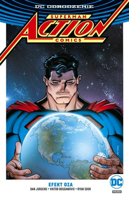 Superman Action Comics Tom 5 Efekt Oza