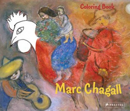 Coloring Book: Marc Chagall Marc Chagall
