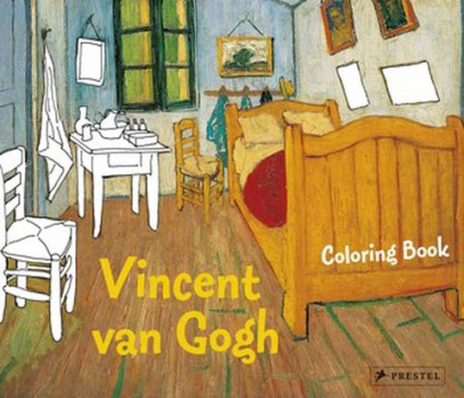 Coloring Book Vincent van Gogh
