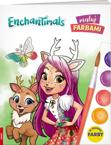 Enchantimals Maluj farbami