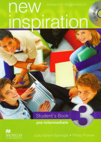 New Inspiration 3 student's book with CD Gimnazjum