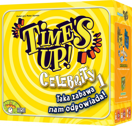 Time's Up: Celebrity 1 - gra karciana
