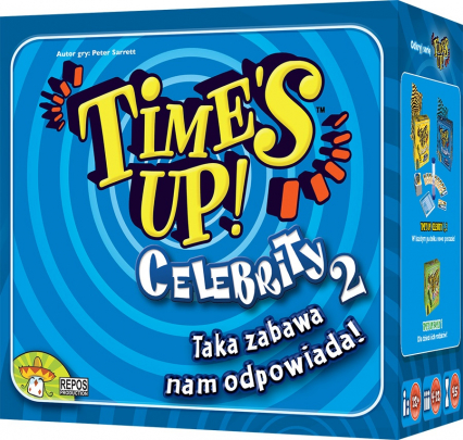 Time's Up: Celebrity 2 - gra karciana